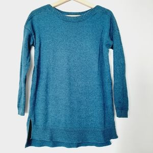 OLD NAVY Bright Teal Blue 3/4 Sleeve Pullover Sweater Top S